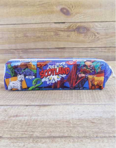 Scotland Pop Art Pencil Case