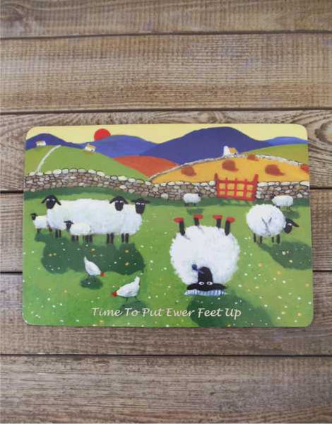 Time To Put Your Feet Up Table Mat