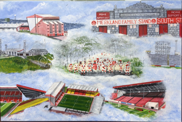 Pittodrie Aberdeen past and present by Stan Fachie