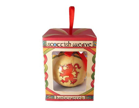 Rampant Lion Bauble