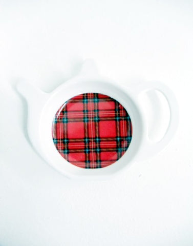 Scotland Royal Stewart Teabag Holder