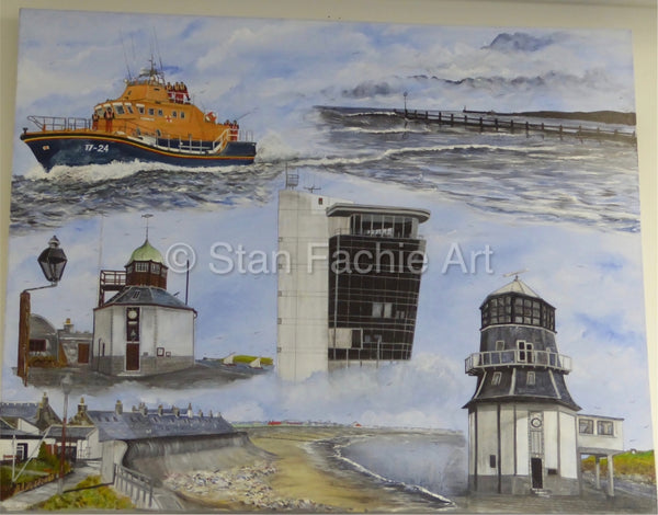 Round House Aberdeen Harbour past and present by Stan Fachie