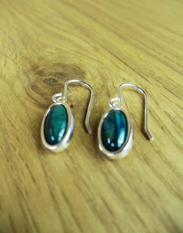 Heathergems Oval Drop Hook Earrings