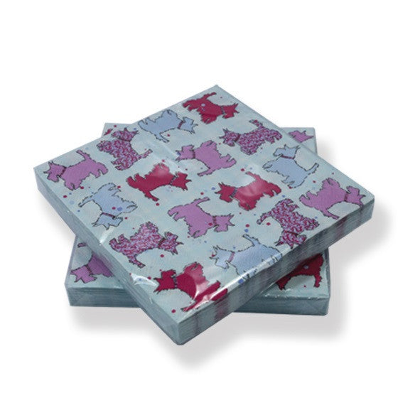 Scottie Dog Napkins