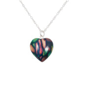 Small Heart Sterling Silver Pendant