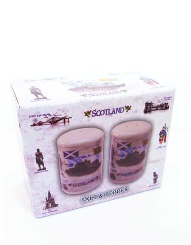 Scottish Iconic Salt & Pepper Set