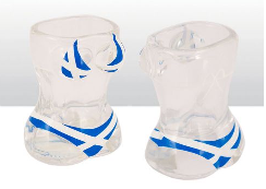 Scotland Saltire Bikni Shot Glass