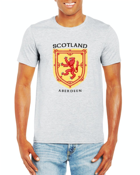 Scotland Lion Aberdeen Old Shield T-Shirt
