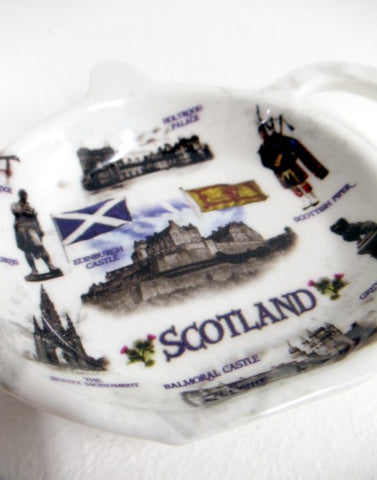 Scotland Collage Teabag Holder