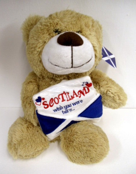 Scottish Teddy - Scotland Wish You Were Here