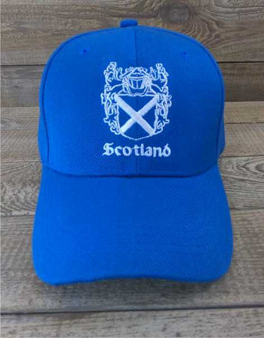 Scotland Stitched Shield Baseball Cap