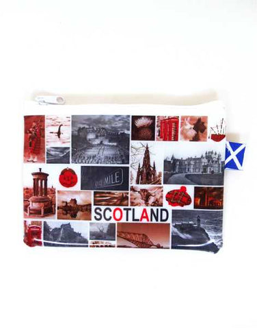 Iconic Images of Scotland Zip Purse