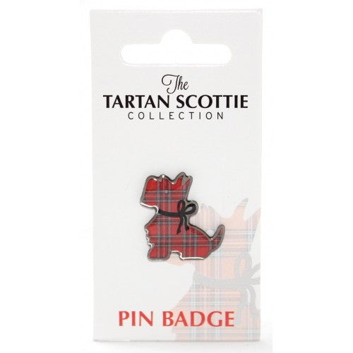 Scottie Dog Pin Badge