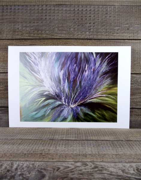 Scottish Thistle Print by Margaret Burns Miles