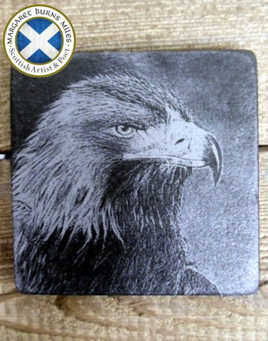 Photo Coaster - Scottish Golden Eagle (C5)