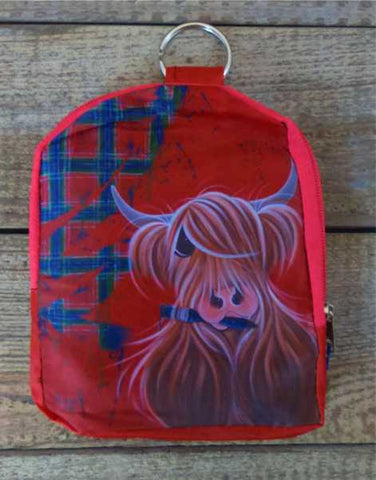 McCoo Highland Cow Fold Up Shopping Bag