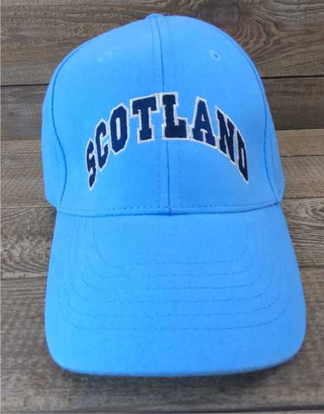 Scotland Stitched Light Blue Baseball Cap