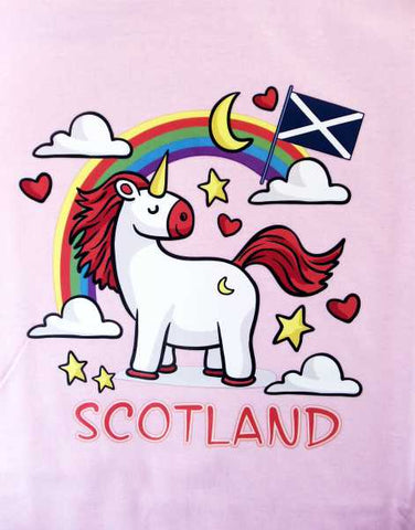 Scotland Children's Unicorn T-Shirt