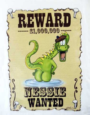 Scotland Children's Wanted Nessie T-Shirt