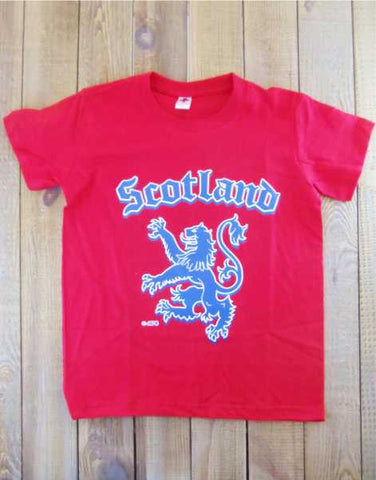 Scotland Rampant Lion T-Shirt
