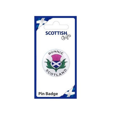 Bonnie Scotland Pin Badge