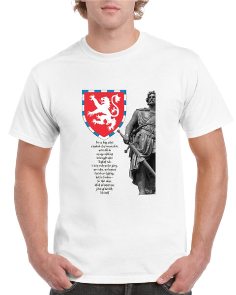 William Wallace & Declaration of Arbroath Tshirt