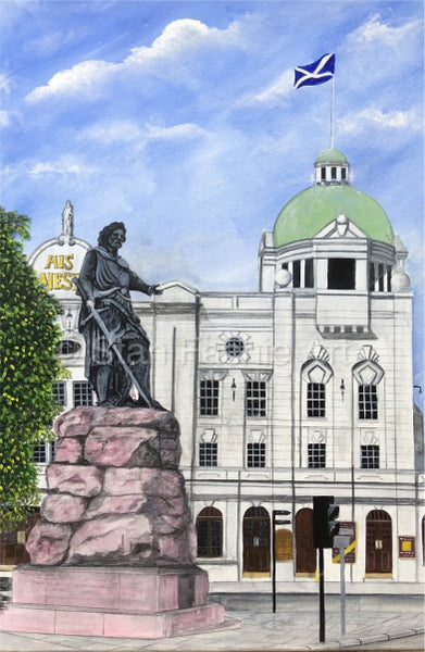 William Wallace and His Majestys Theatre Aberdeen by Stan Fachie