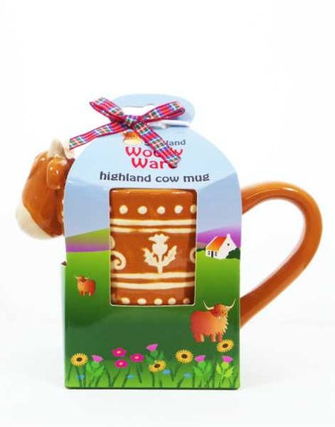 Highland Cow Woolly Ware Mug