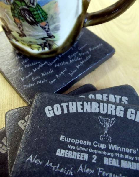Gothenburg Greats Stone Coaster