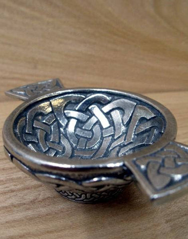 Small Celtic Quaich