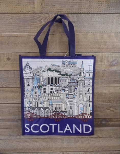 Landmarks of Scotland Reusable Shopping Bag