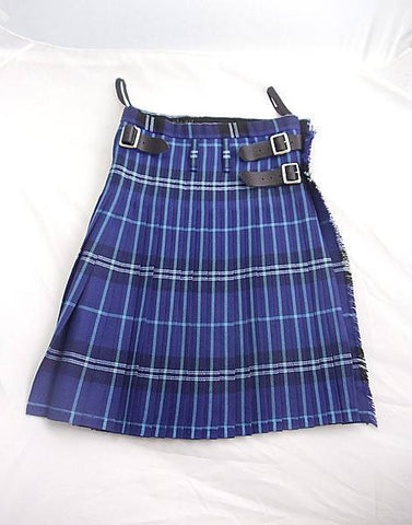 Pure Wool Kilt - Grampian Tartan - Made in Scotland (Ex-Hire)