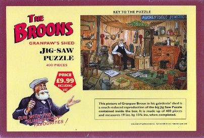 The Broons - Granpaw's Shed- Jigsaw