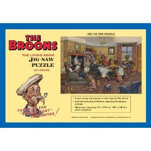 The Broons - The Living Room- Jigsaw