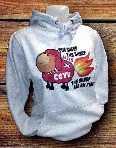 "Adult Hoody - ""The Sheep Are On Fire"""