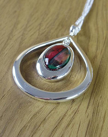 Heathergems Teardrop Pendant