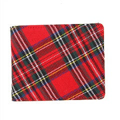 Tartan Traditions Royal Stewart Wallet