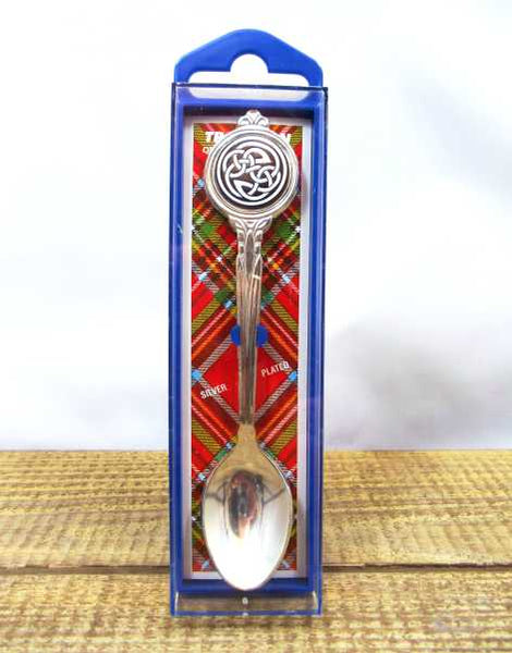 Celtic Knot Scottish Collectable Souvenir Spoon