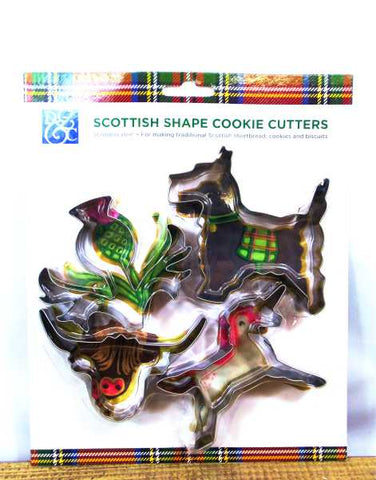 Scottish Shape Cookie Cutters