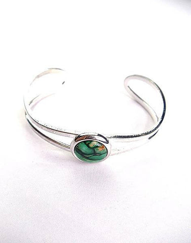 Heathergems Celtic Loop Bangle