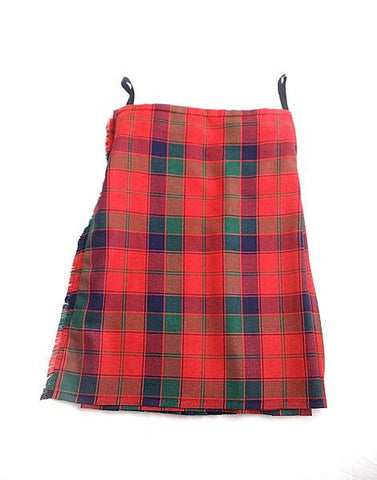 Pure Wool Kilt - Robertson Tartan - Made in Scotland (Ex-Hire)
