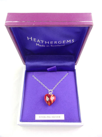 Heathergems Tiny Heart Pendant