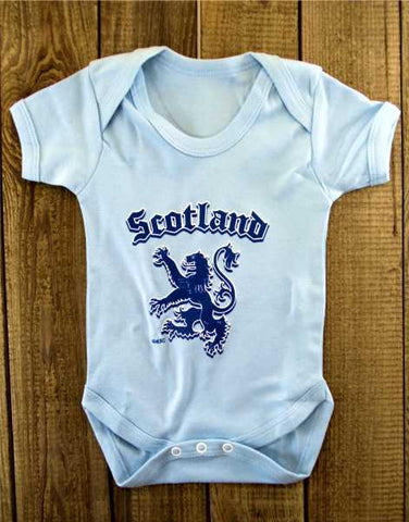 Scotland Rampant Lion Baby Grow