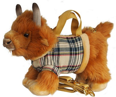 Highland Cow - Thompson Tartan Handbag