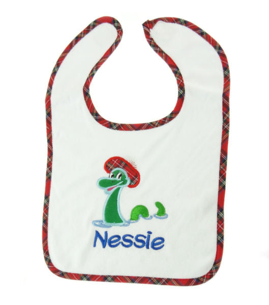 Nessie with Bib