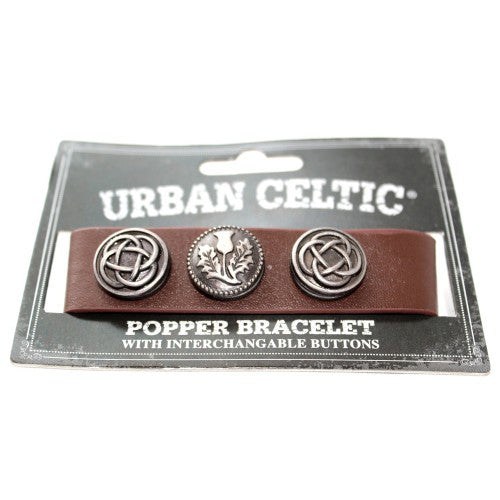 Urban Celtic Popper Bracelet