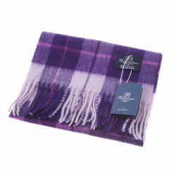 Ballantrae Lambswool Scarf - Purple Dress