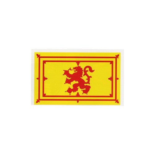 Lion Rampant Sticker