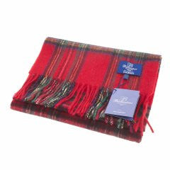 Ballantrae Lambswool Scarf - Stewart Royal