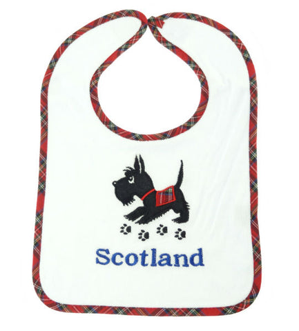 Scottie Baby Bib